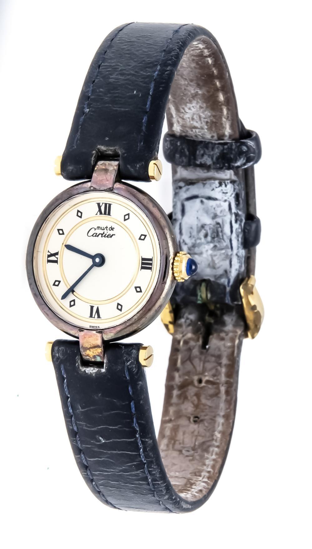 Cartier ladies quartz watch,