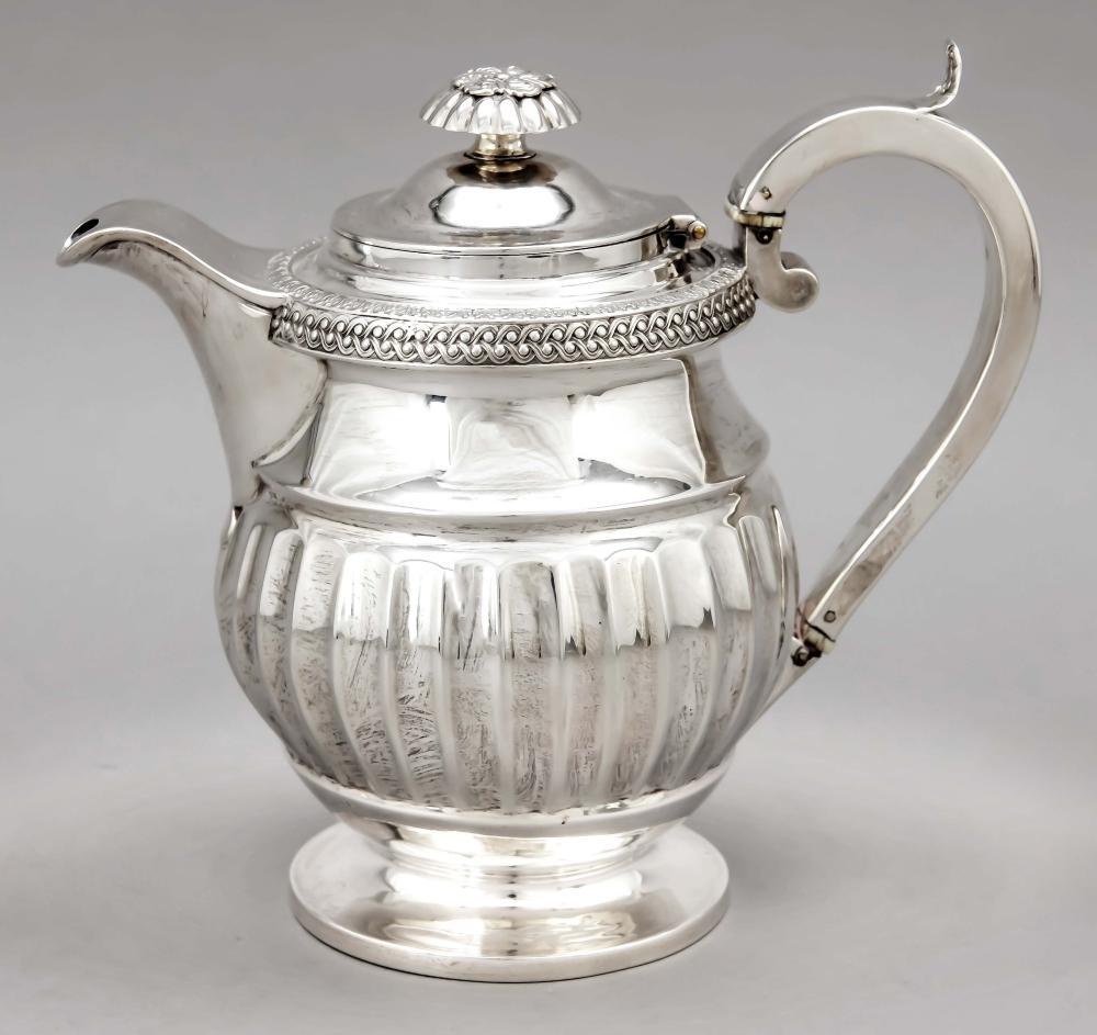 Teapot, England, 1818, maker'