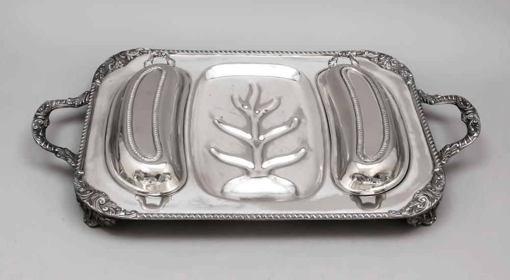Rectangular serving tray, 20t