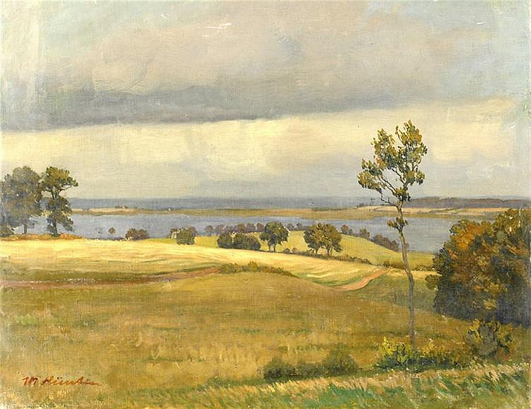 Max Hünten (1869-1936), painter Düsseldorf,