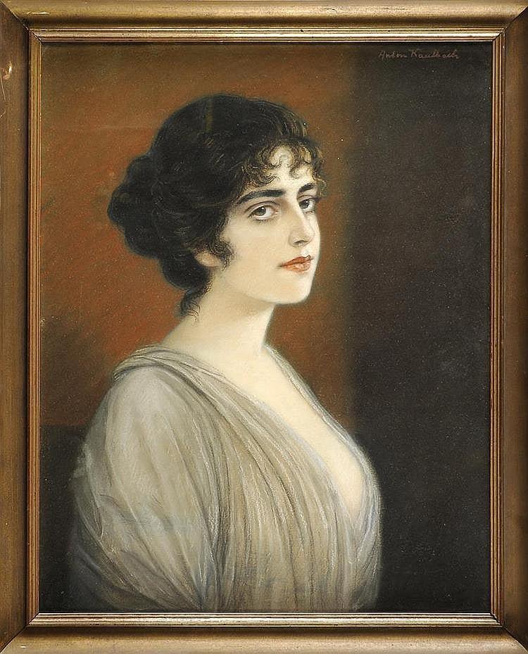 Anton Kaulbach (1864-1930), portrait painter,