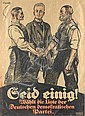 Alexander M. Cay (1887-1971), Propaganda poster in, Alexander M. Cay, Click for value