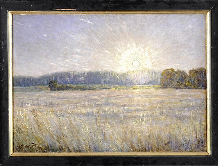 Achton Friis (1871-1939), Danish painter and