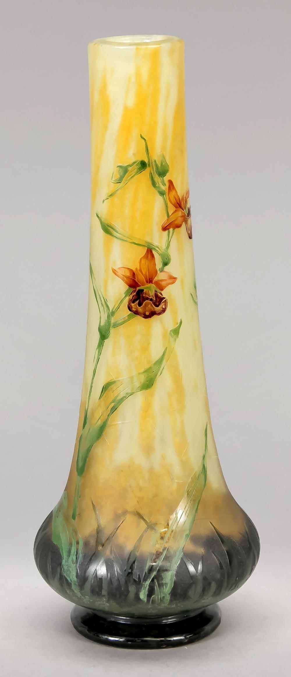 Art Nouveau vase, France, c. 1