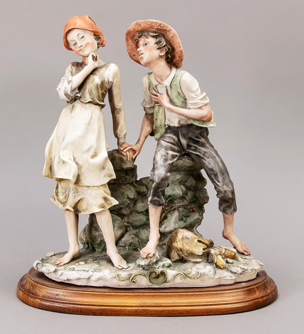Young couple, Capodimonte, Nap