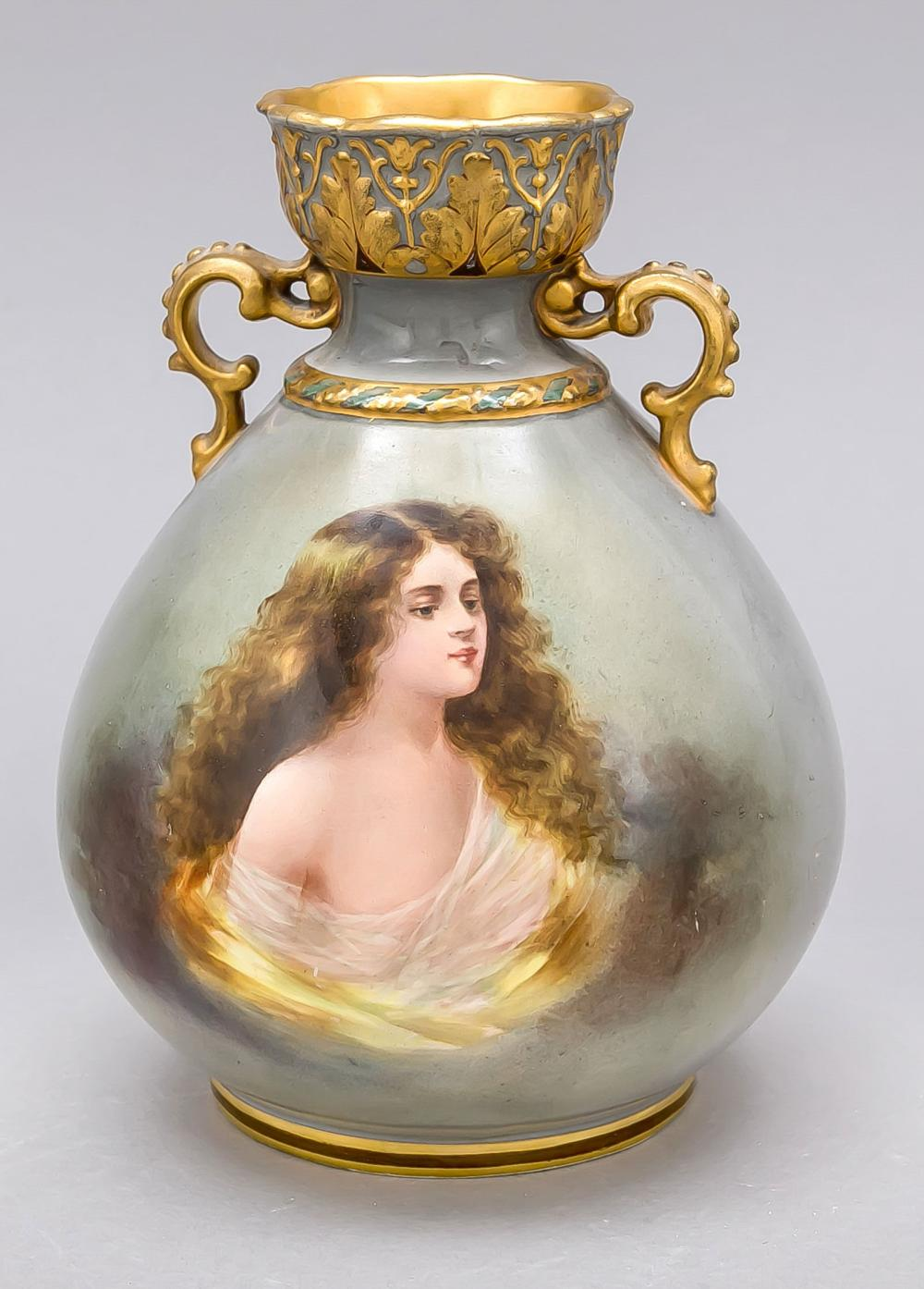 Art Nouveau vase, Mehlem, Bonn
