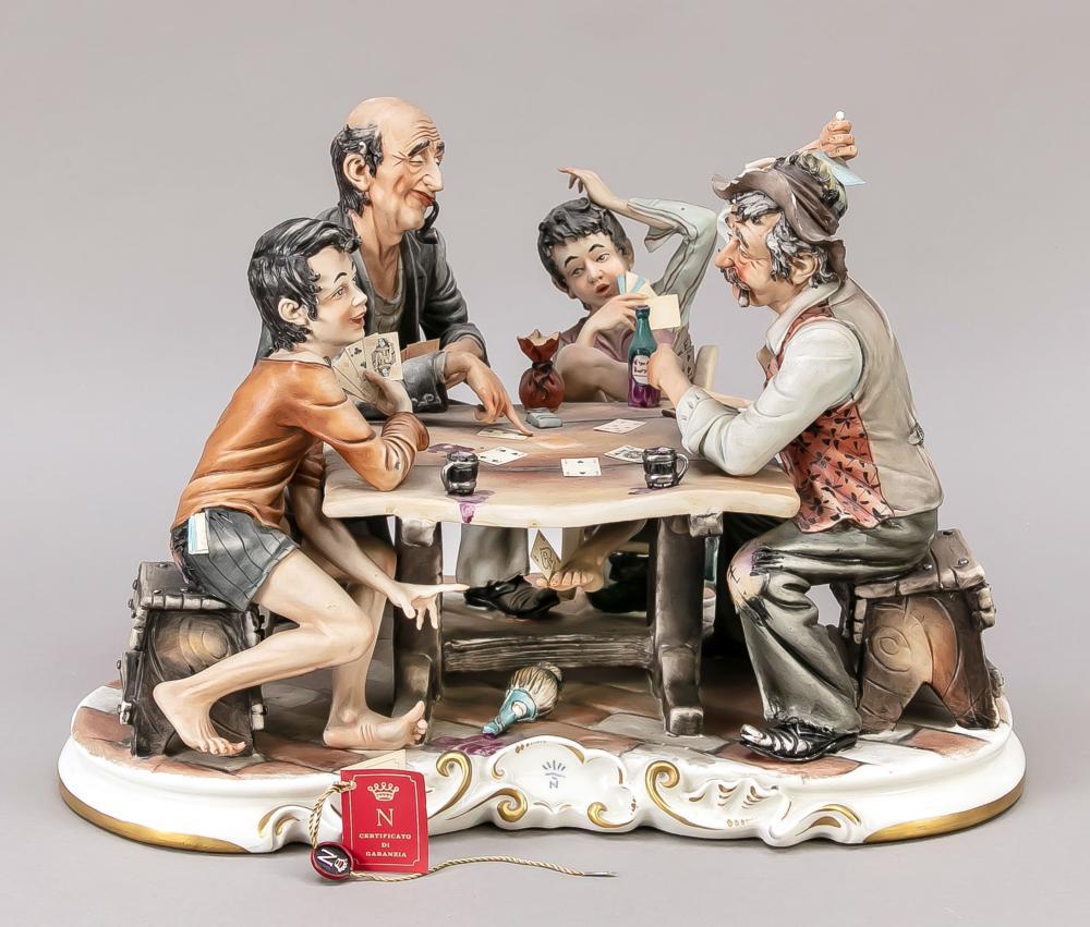 Card player, Capodimonte, Napl