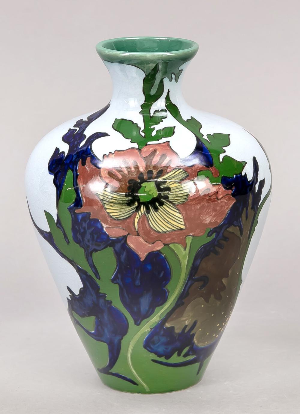 Ceramic vase, Gouda, Holland,