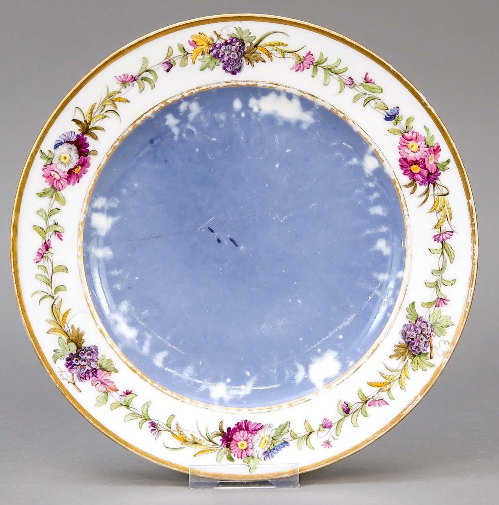 Plate, Sevres, mark I Empire 1