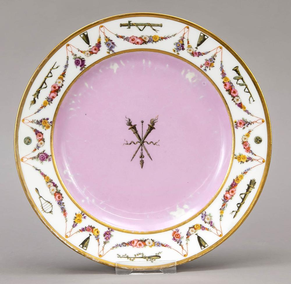 Plate from a service for Emper
