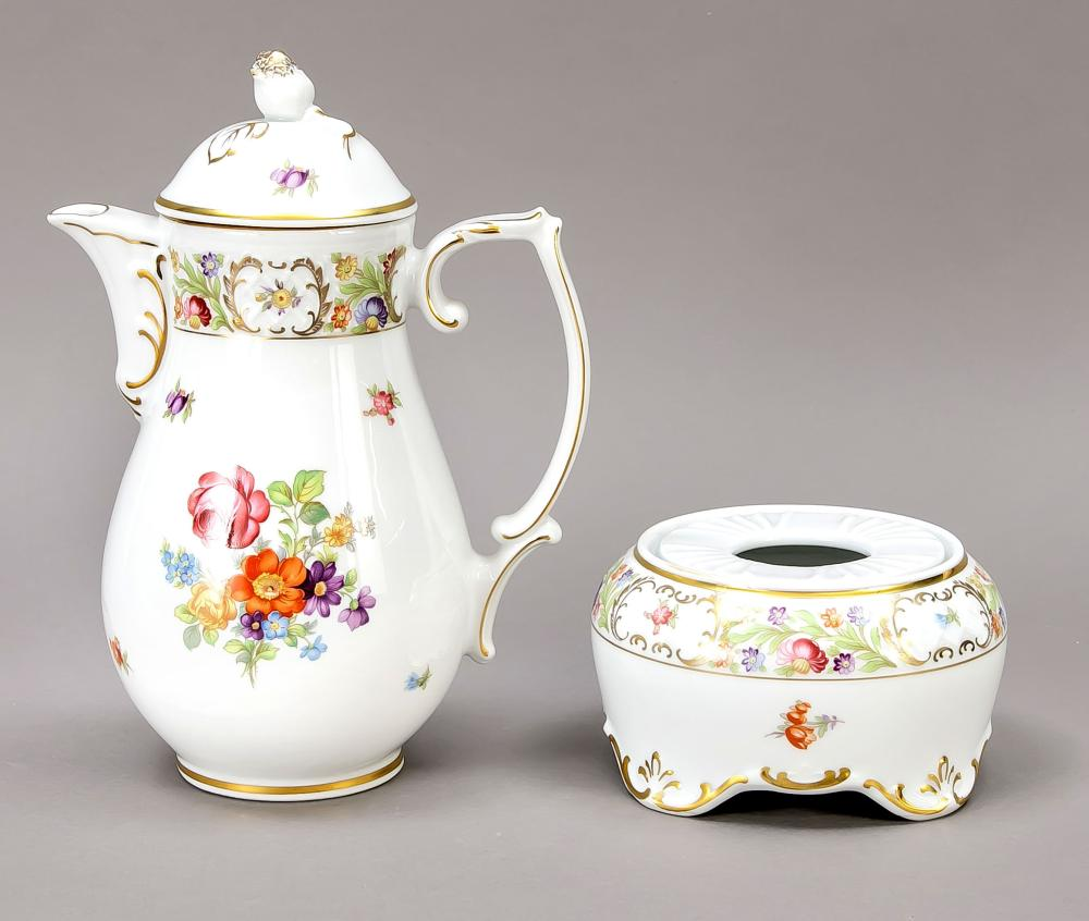 Coffee pot and teapot, Schuman