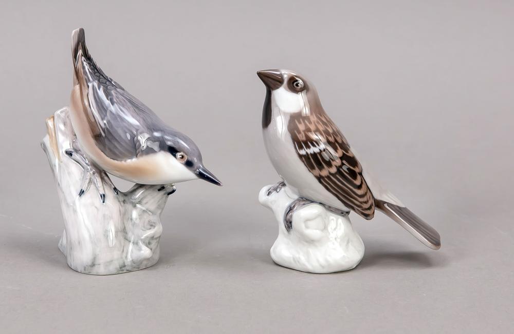 Two birds, Bing & Gröndahl, 19