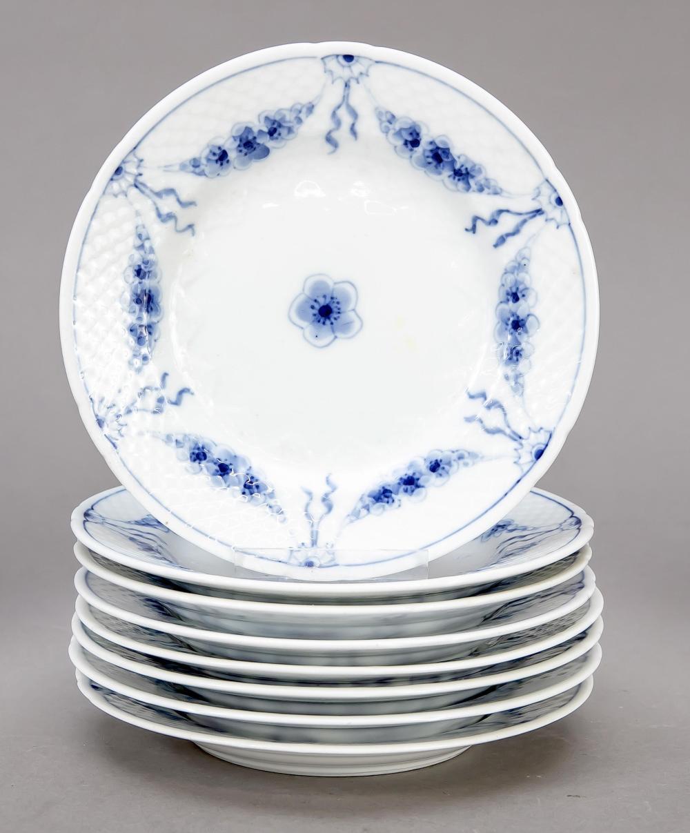 Eight bread plates, Denmark, 2