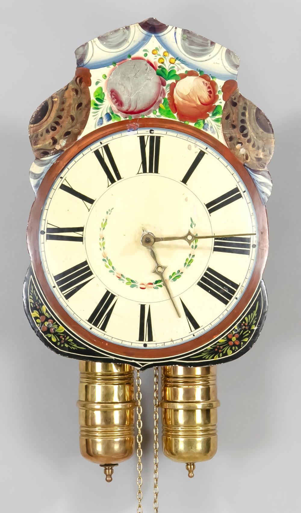 Tartan clock, beginning of the