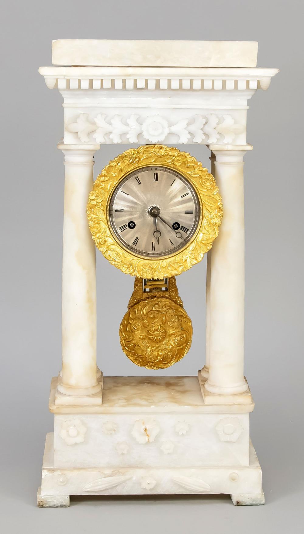 Portal clock 2nd half of the 1