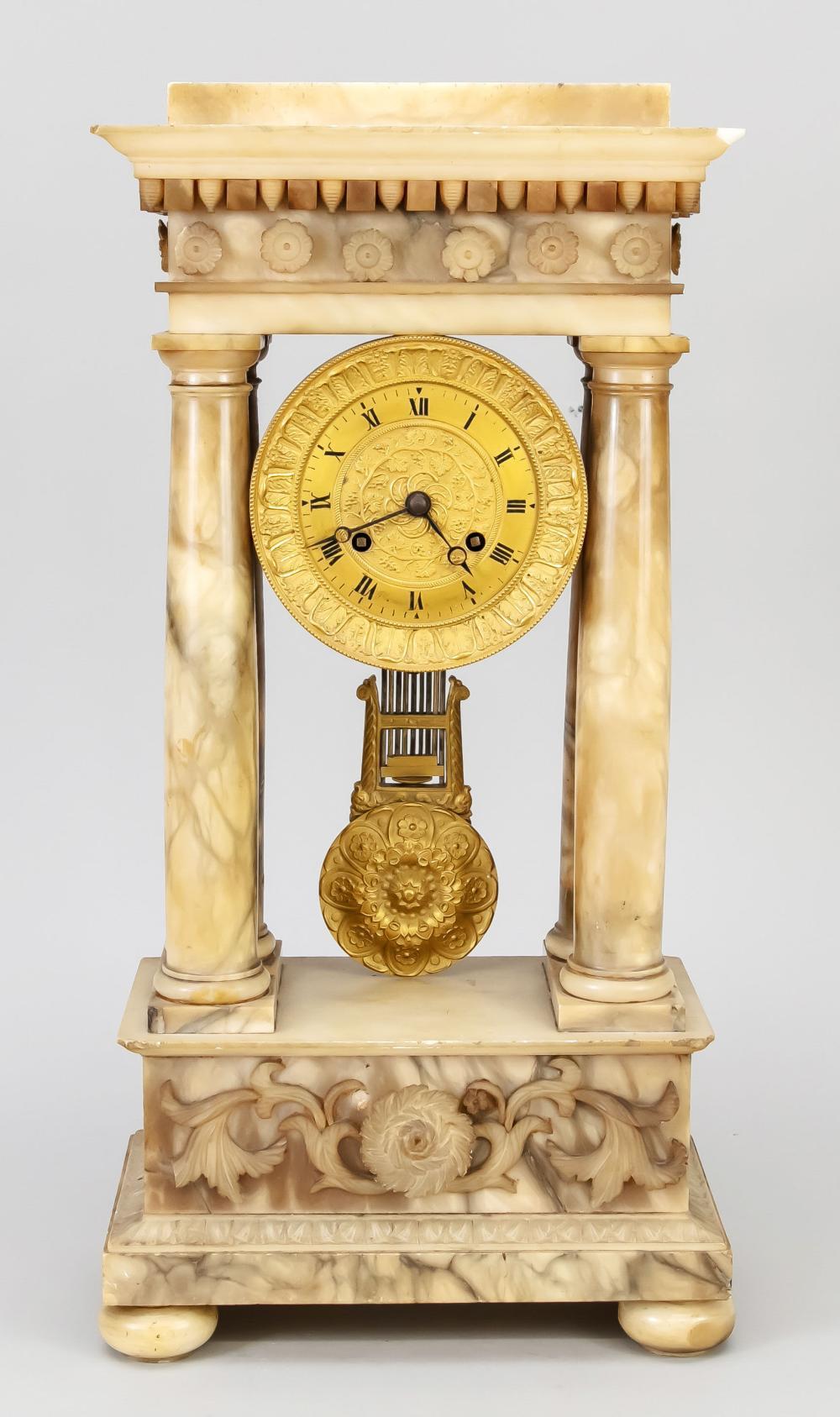 Portal clock, 2nd half of the