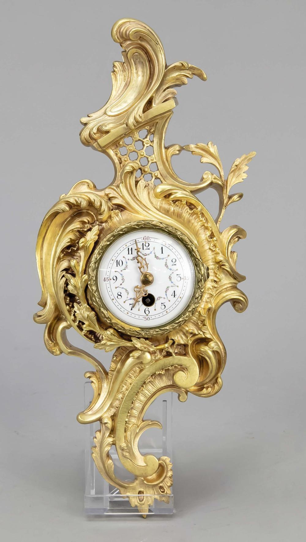 Mini cartel clock, 1st half of