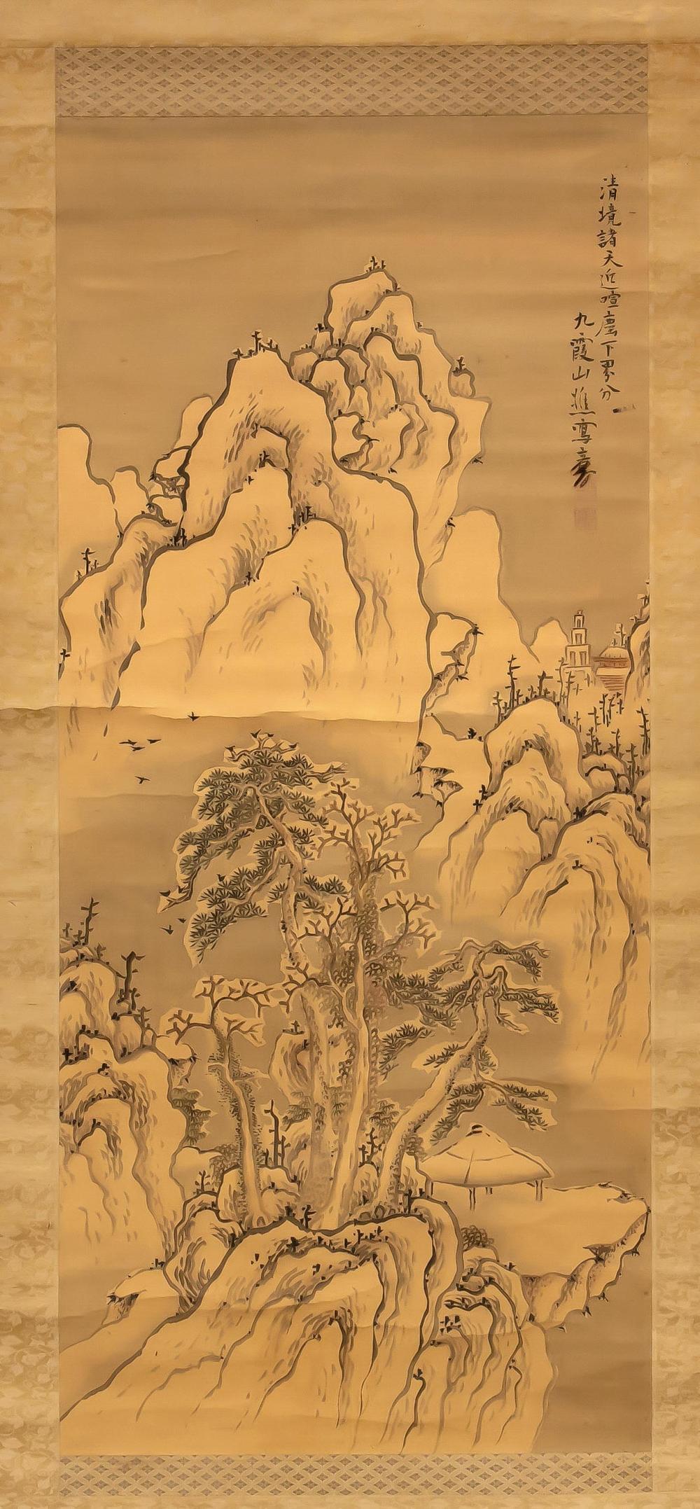 Ike No Taiga (1723-1776): Snow
