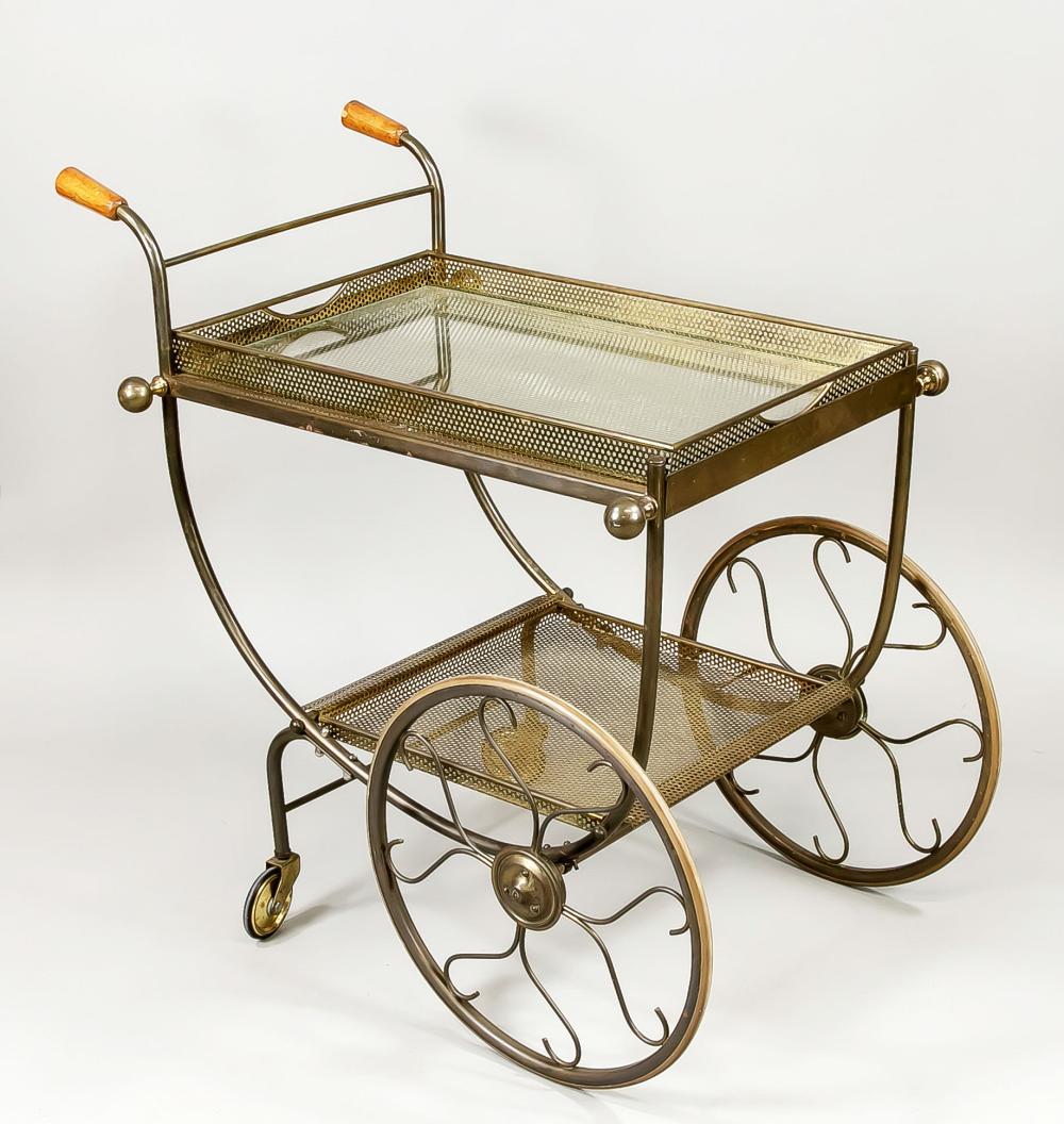 Mid-Century bar cart/serving trol