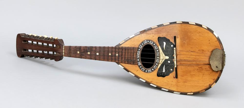 Lute-like stringed instrument, c.