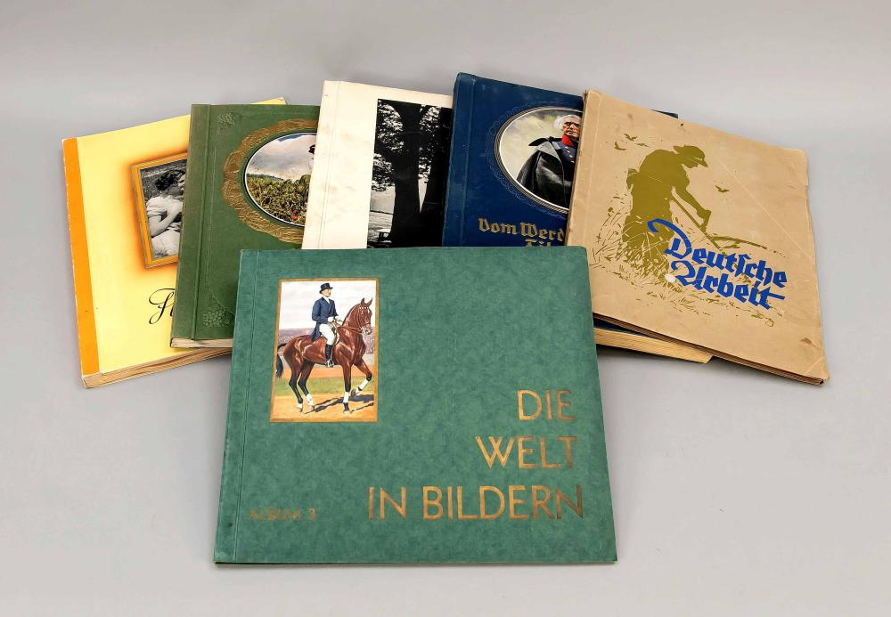 Collectible picture albums - Ten