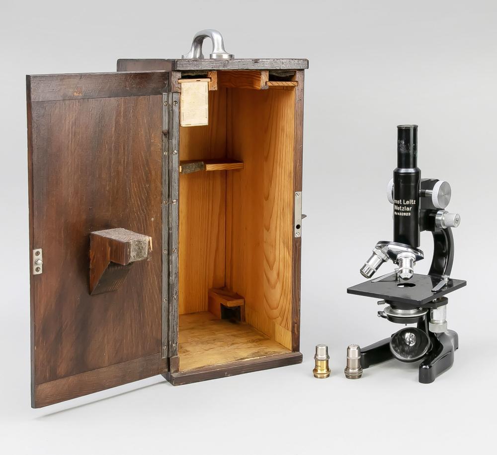 Microscope Ernst Leitz, Wetzlar,