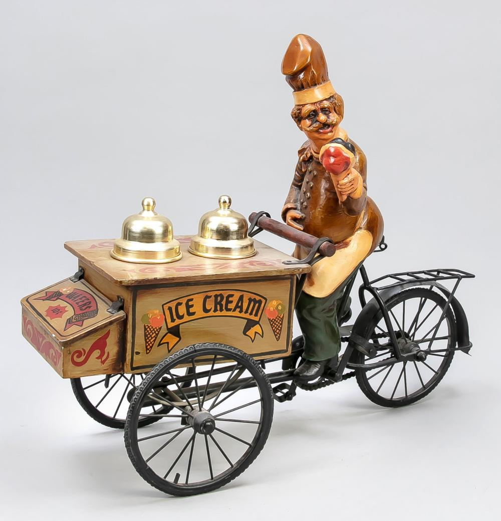 Ice cream vendor on tricycle, 20t