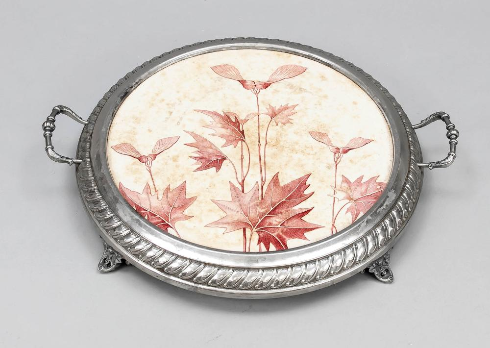 Cake plate, 19th/20th century, ce