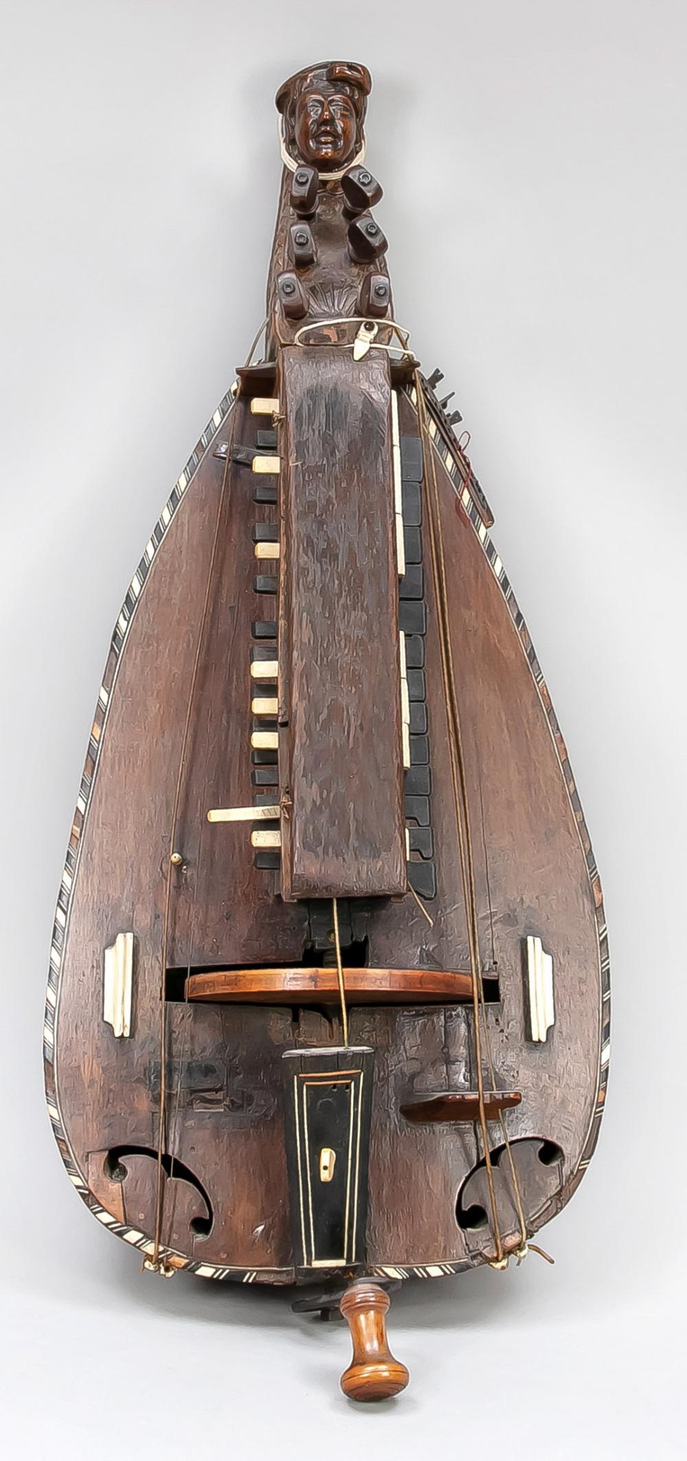 Hurdy-gurdy, probably France, c.