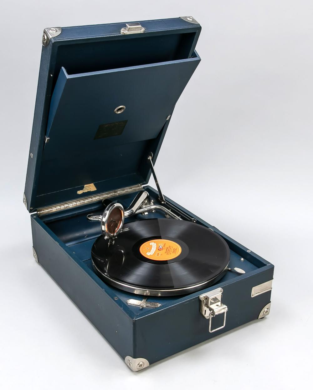 Case gramophone, Germany, early 2