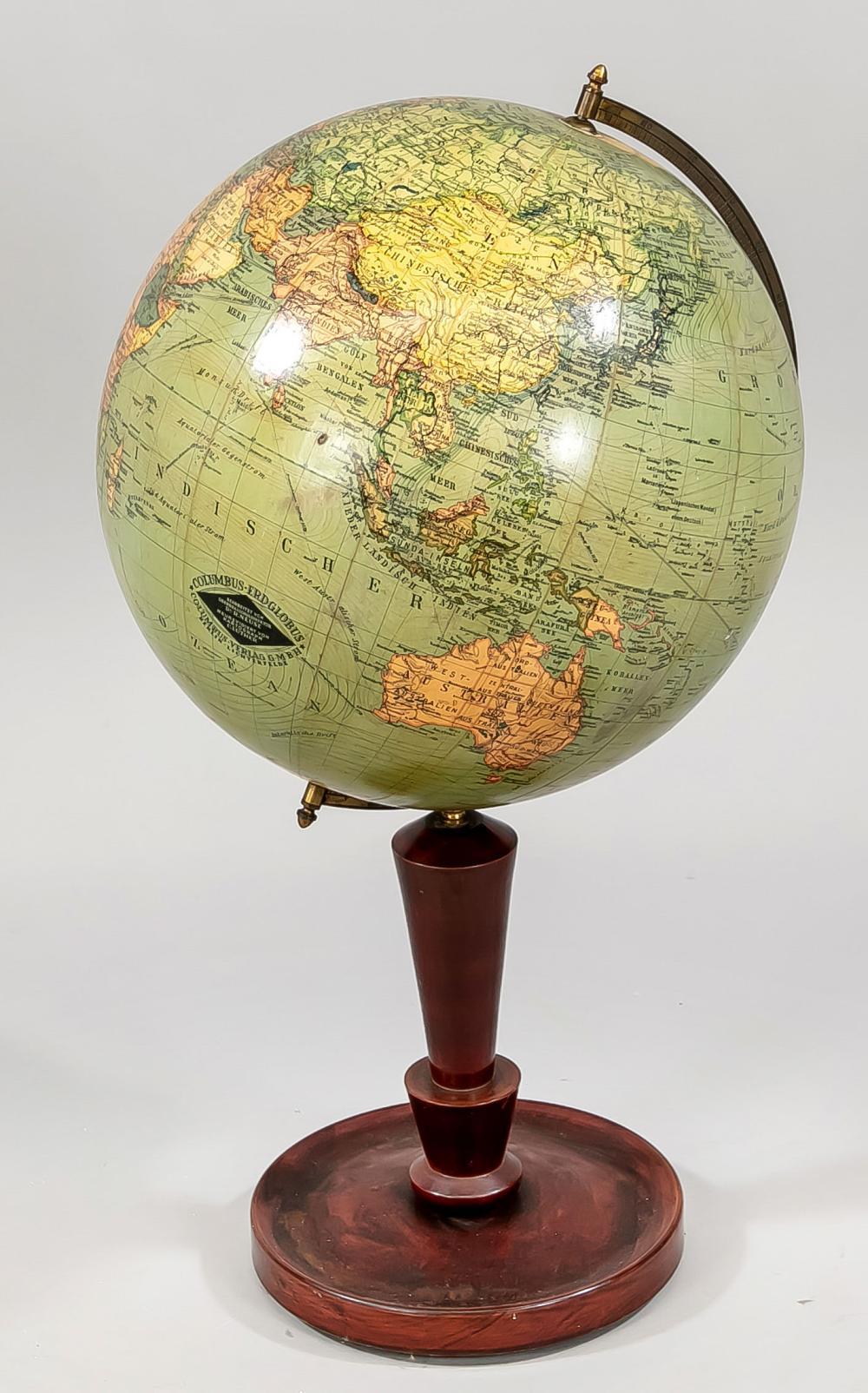 Globe, beginning of 20th century,
