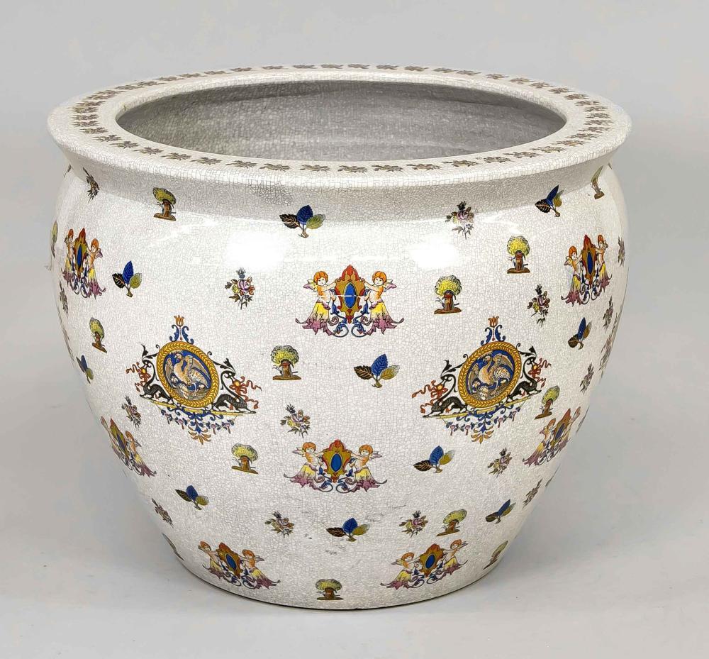 Large cachepot, 20th century, pol