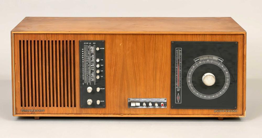 Radio console, Germany, 60s/70s,