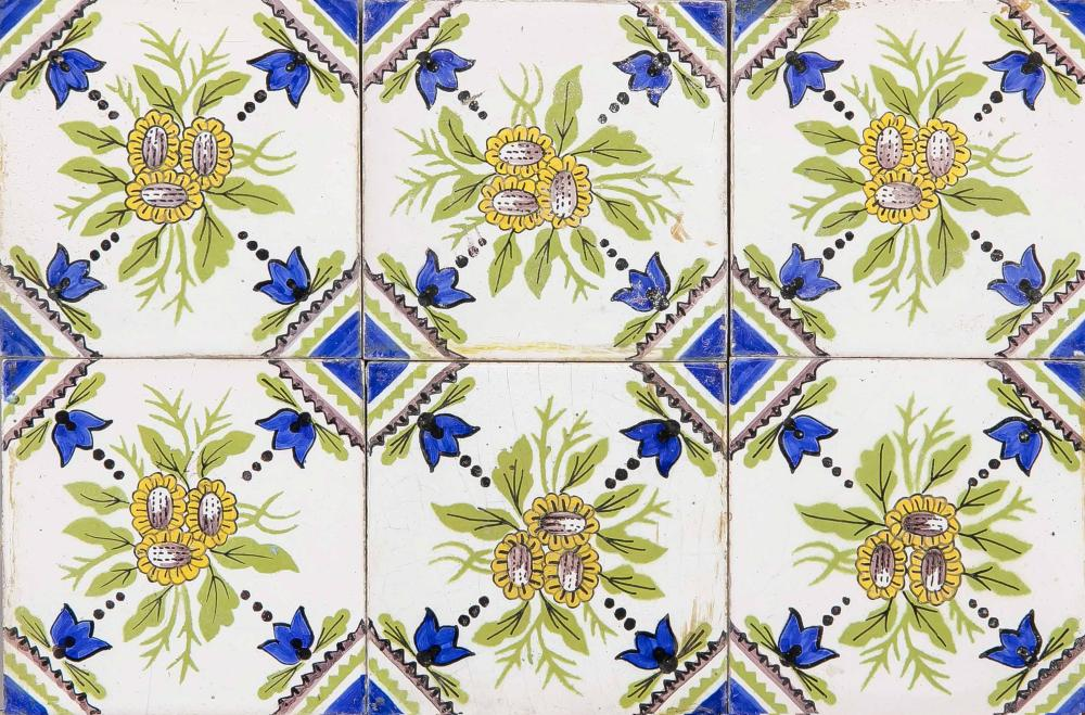 40 Tiles, Holland, 18th/19th cent