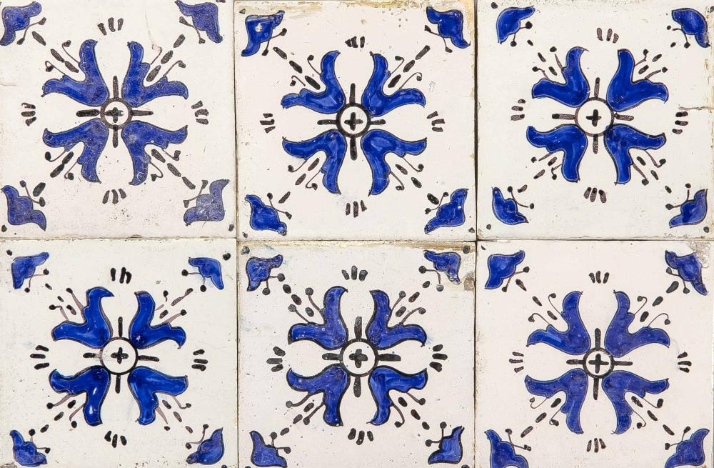 50 tiles, Holland, 18th/19th cent