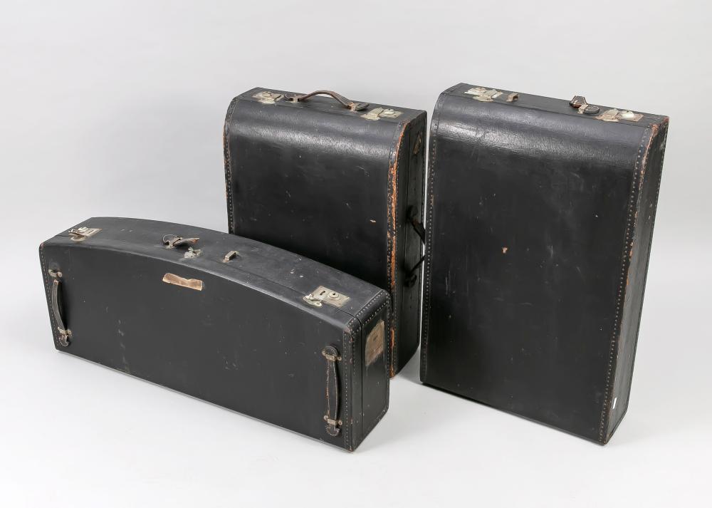 Three-piece suitcase set, 1st V.