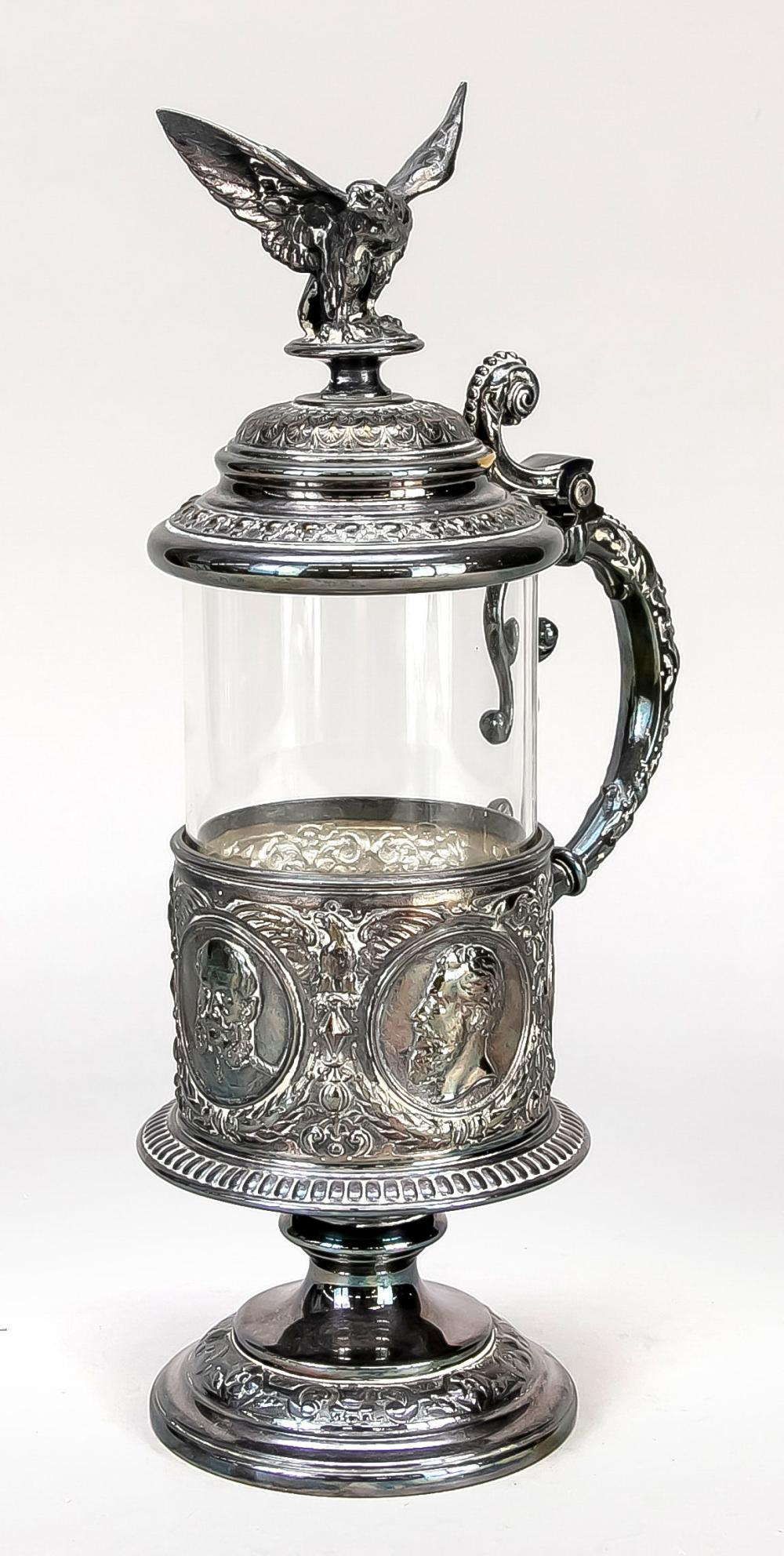 WMF beer stein with handle, end o