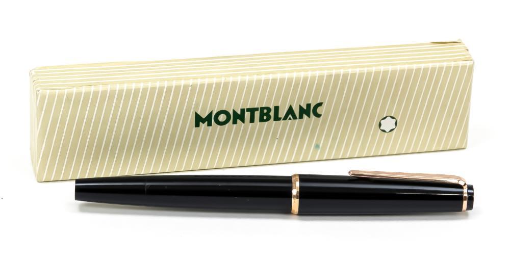 Montblanc piston fountain pen, 2n