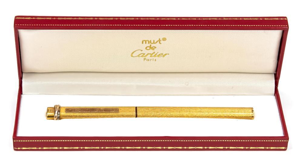 Cartier rollerball, 2nd half of t