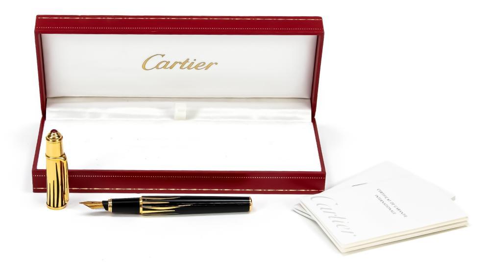 Cartier parton fountain pen, 2nd