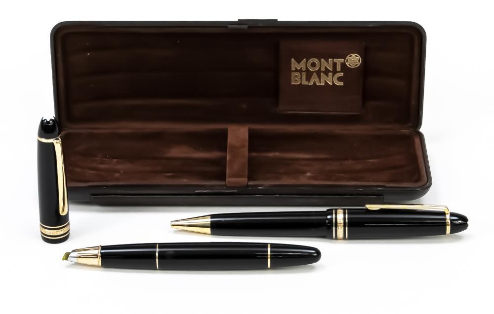 Two-piece writing set, Montblanc
