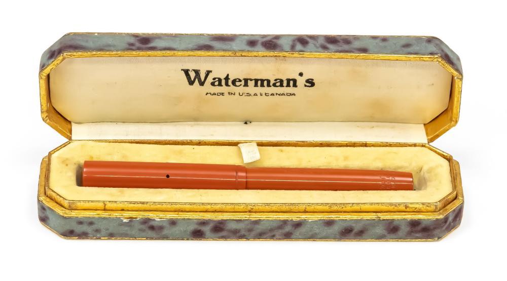 Waterman's cartridge fountain pen
