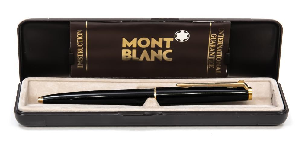 Montblanc lever-action ballpoint