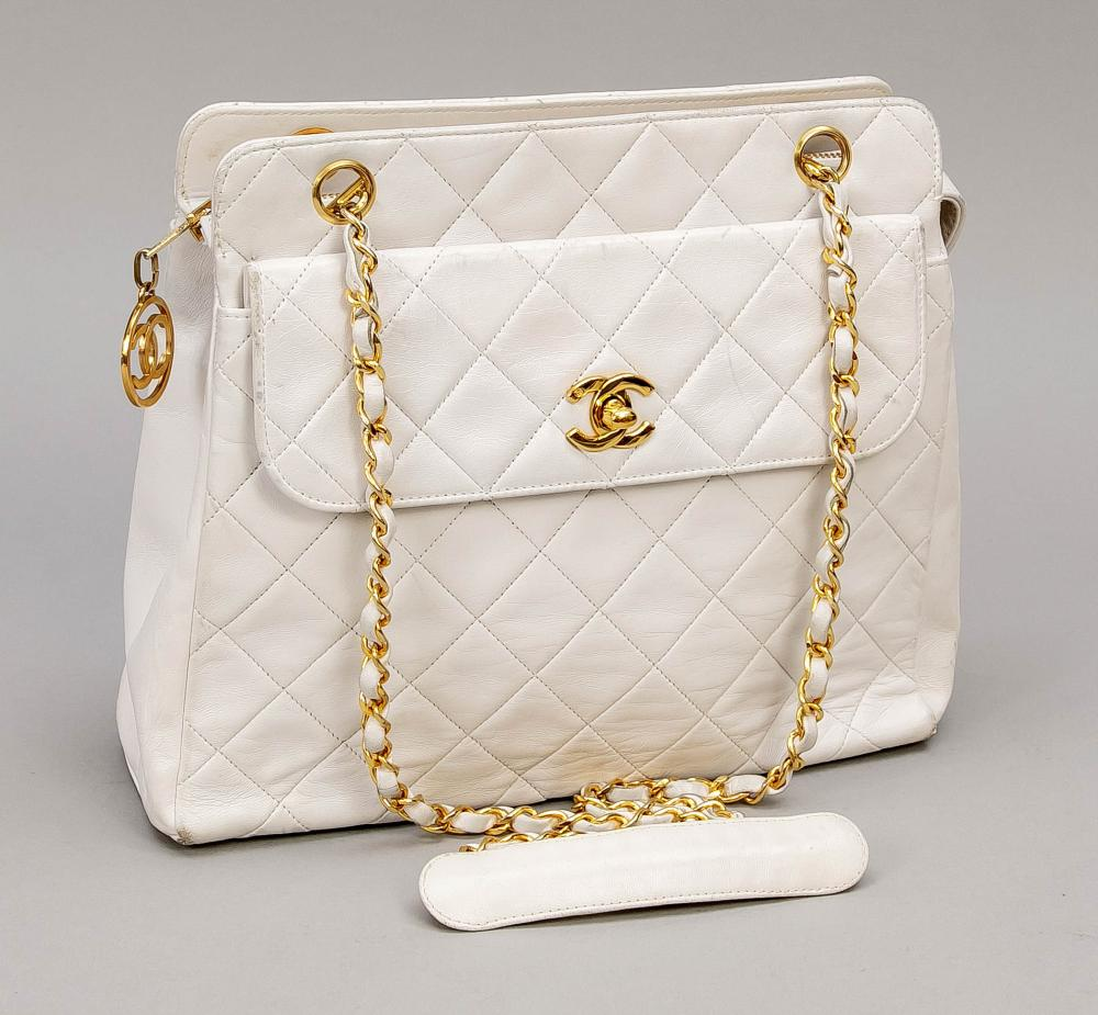 Chanel, Vintage Quilted White