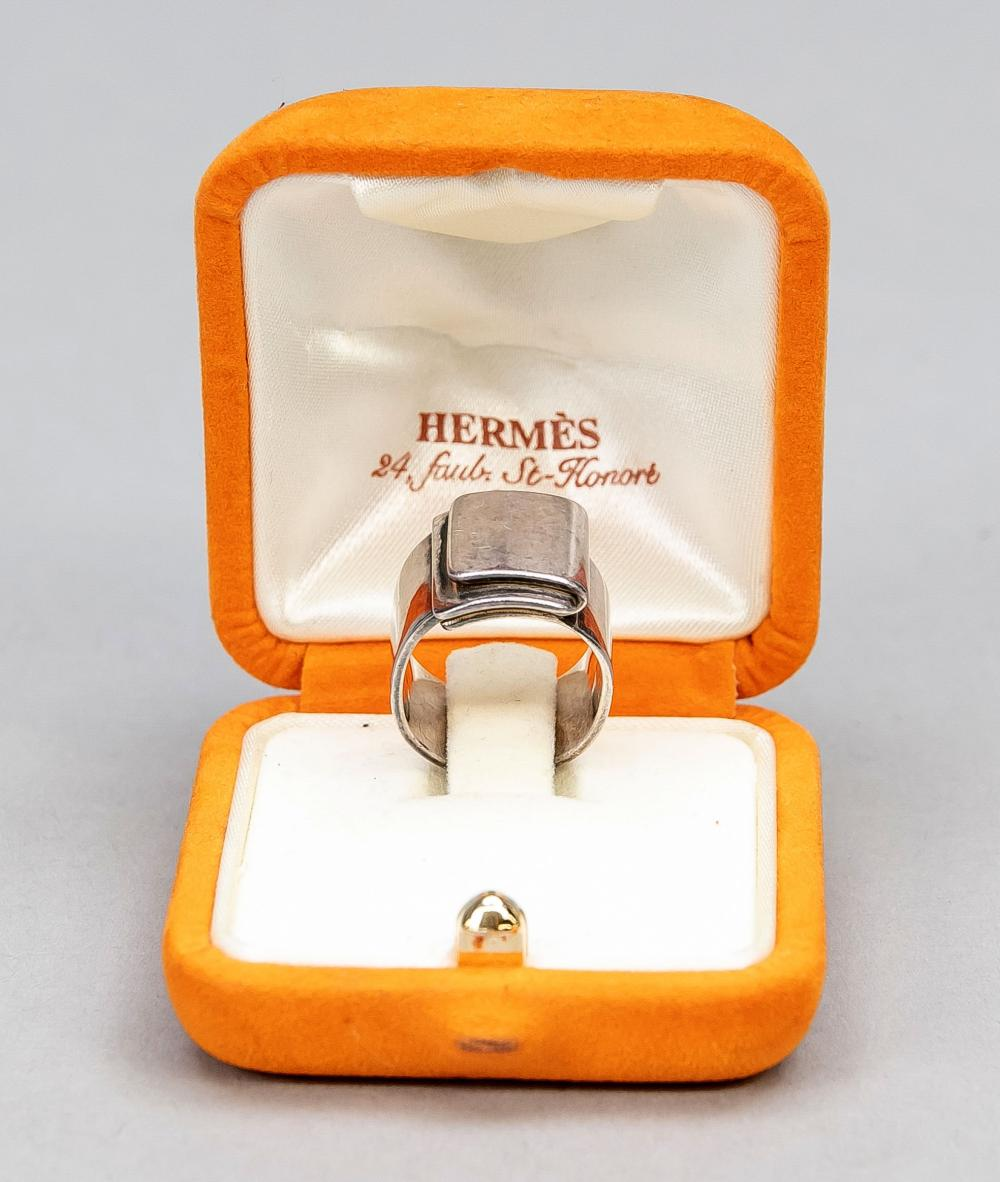 Hermes, silver ring (stamped),