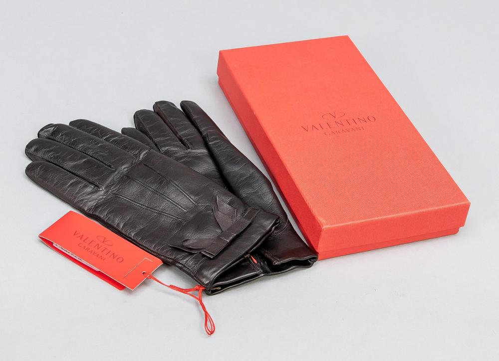 Valentino, ladies leather glov
