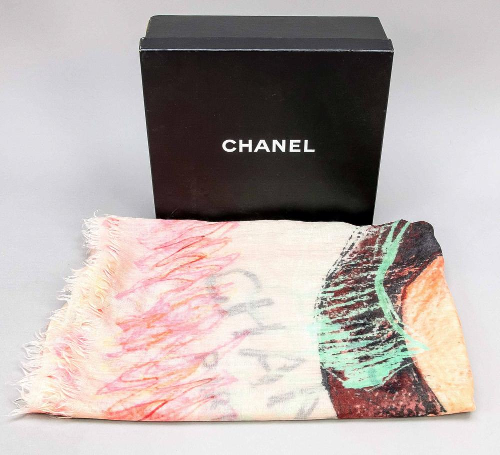 Chanel, polychrome patterned w