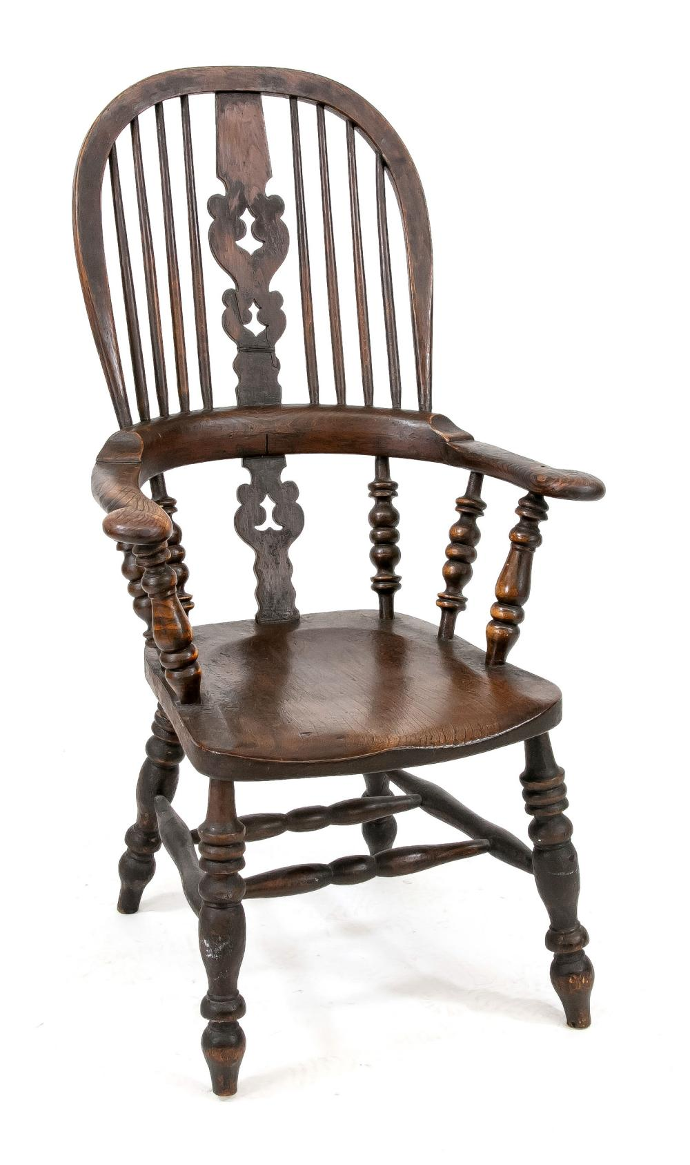 English Windsor chair, end of