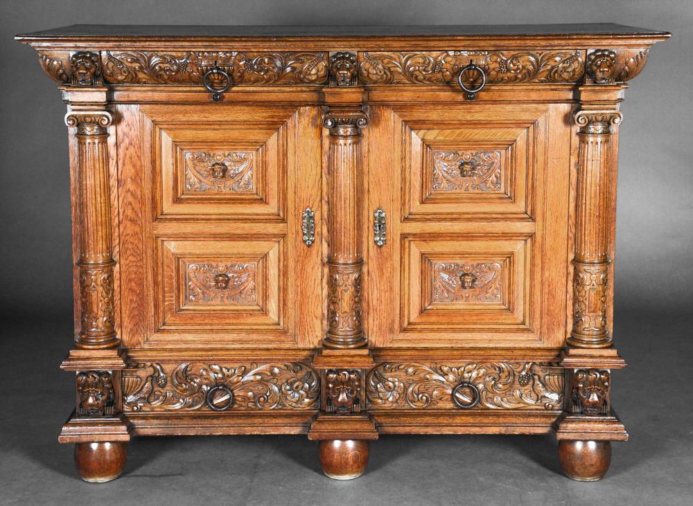 Neo-Renaissance sideboard arou