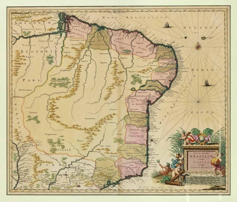 Three historical maps of the 1